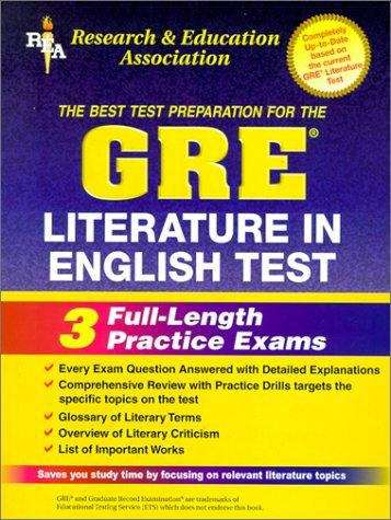The Best Test Prep for the GRE Literature in English Test (2nd edition)