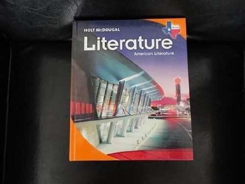 Holt McDougal Literature: American Literature (Texas Edition)