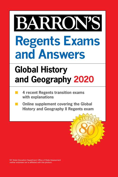 Regents Exams and Answers: Let's Review: Global History And Geography + Regents Exams And Answers: Global History And Geography (Barron's Regents NY)