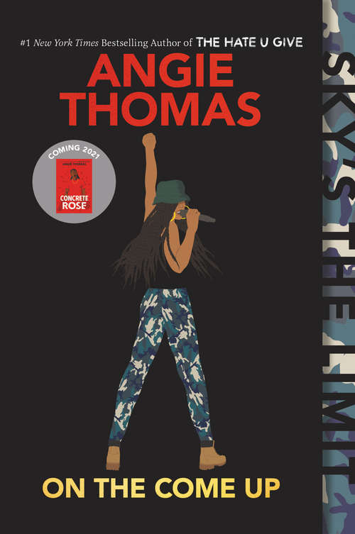 Collection sample book cover On the Come Up by Angie Thomas