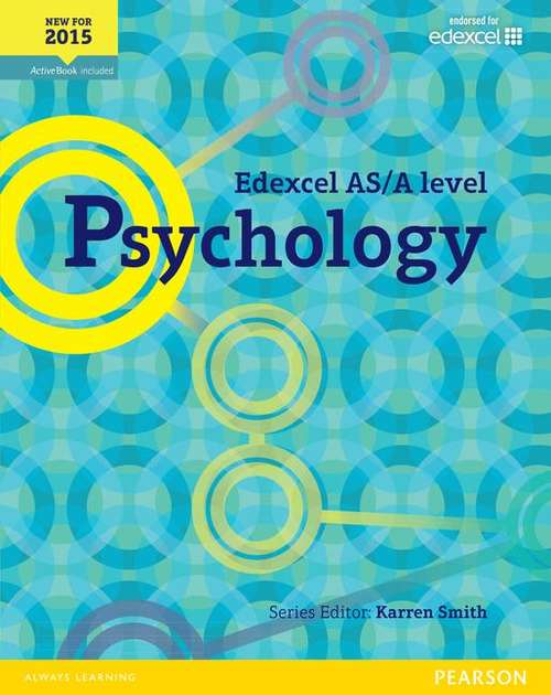 Edexcel AS/A Level Psychology Student Book + Activebook (PDF