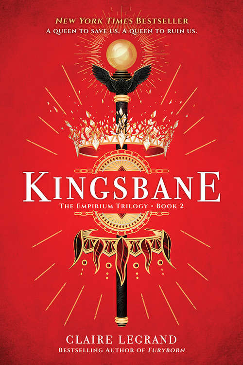 Collection sample book cover Kingsbane by Claire Legrand