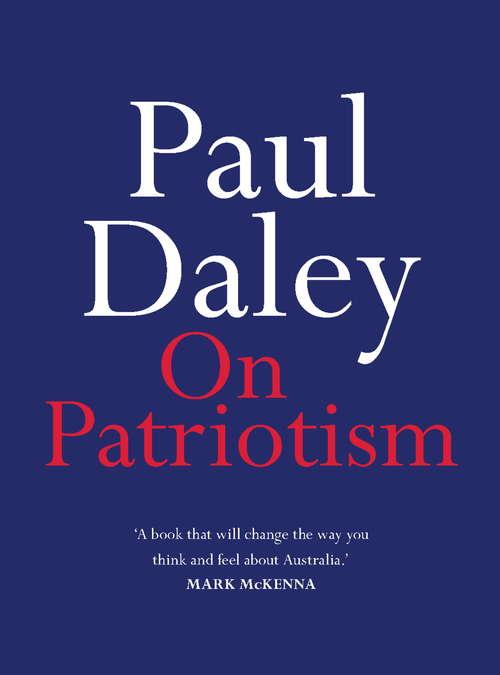 On Patriotism (On Ser.)