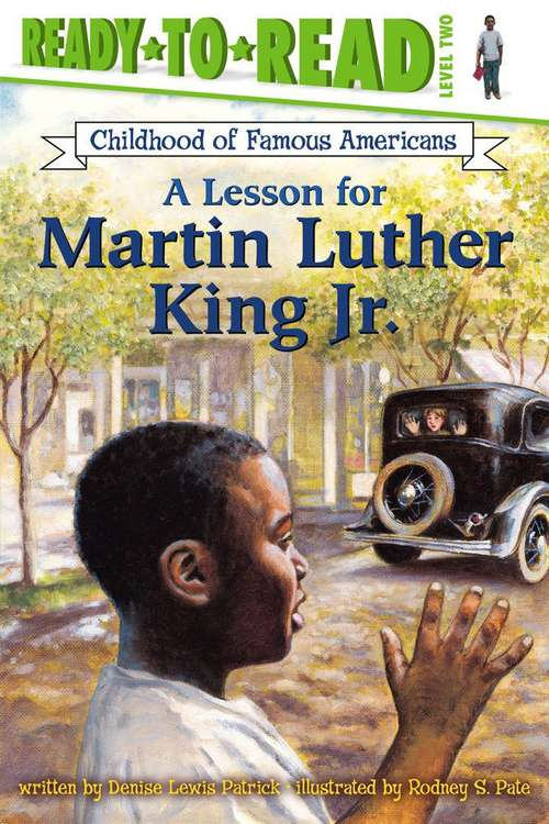 A Lesson for Martin Luther King, Jr.