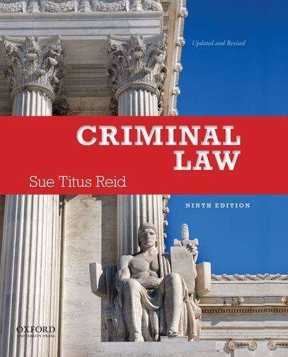 Criminal Law, Ninth Edition
