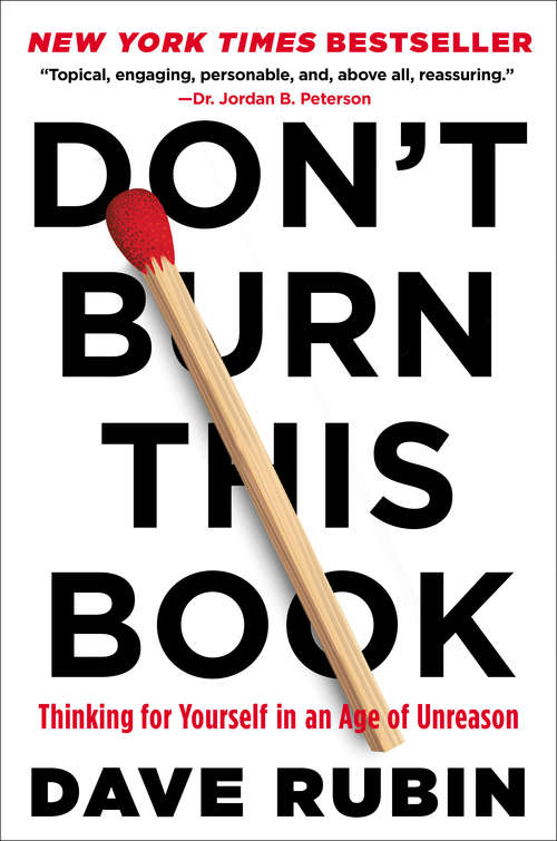 Don't Burn This Book by Dave Rubin