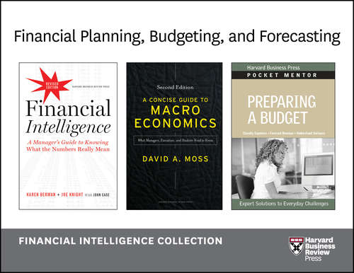 Financial Planning, Budgeting and Forecasting/Financial Intelligence Collection