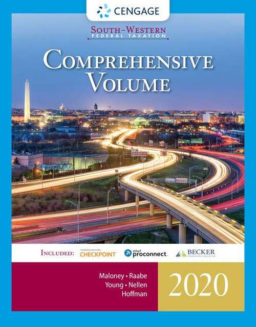 South-Western Federal Taxation 2020: Comprehensive Volume