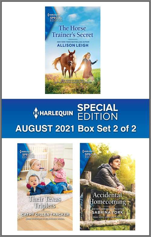 Harlequin Special Edition August 2021 - Box Set 2 of 2
