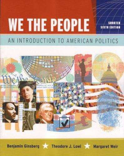 We the People (Shorter 6th Edition)