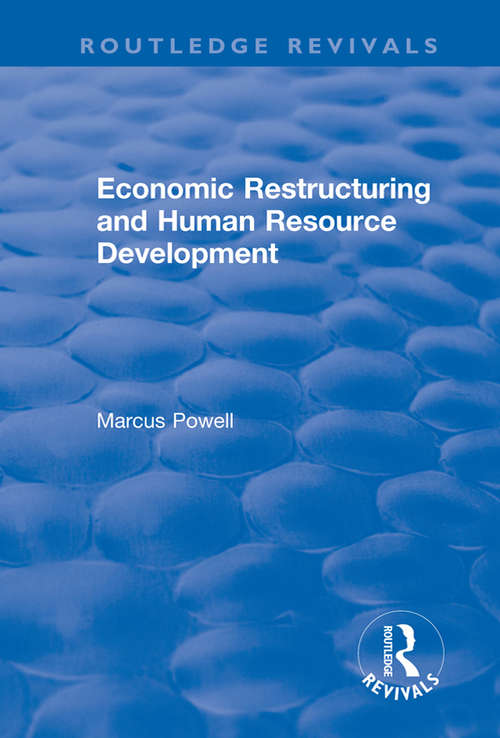 Economic Restructuring and Human Resource Development