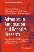 Advances in Automation and Robotics Research: Proceedings of the 2nd Latin American Congress on Automation and Robotics, Cali, Colombia 2019 (Lecture Notes in Networks and Systems #112)