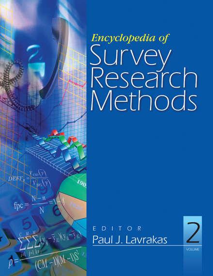 Encyclopedia of Survey Research Methods