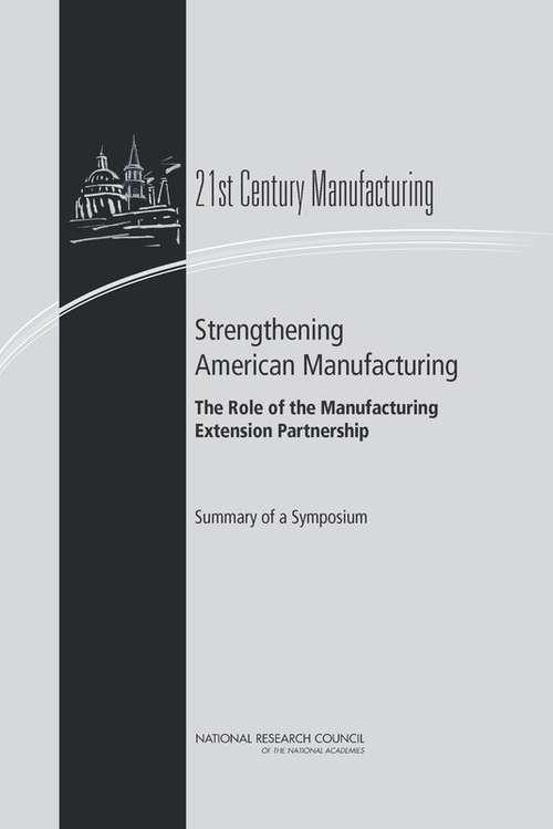 Strengthening American Manufacturing