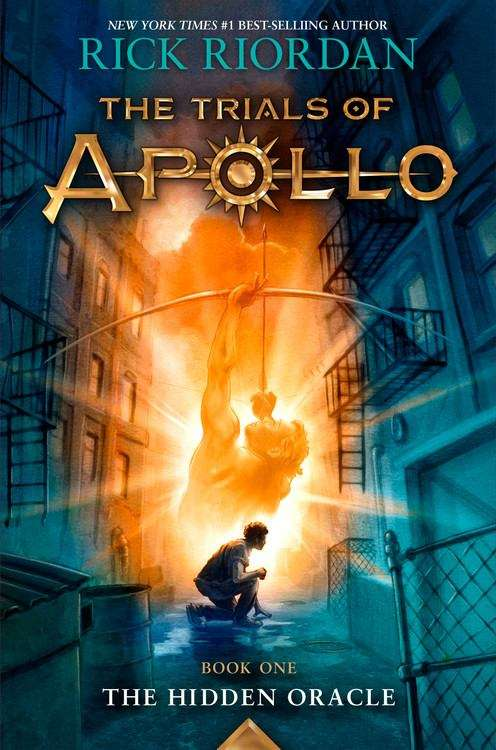 Collection sample book cover The Hidden Oracle (The Trials of Apollo)