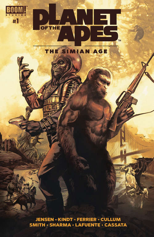 Planet of the Apes: The Simian Age #1 (Planet of the Apes)