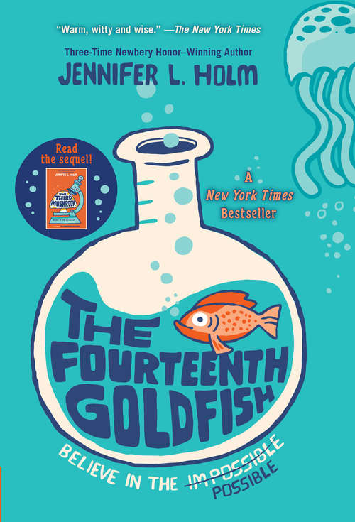Collection sample book cover The Fourteenth Goldfish by Jennifer L. Holm