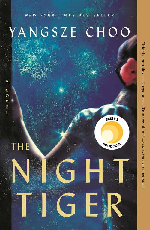 Collection sample book cover The Night Tiger by Yangsze Choo