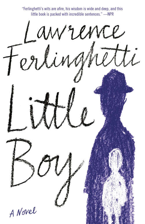 Collection sample book cover Little Boy by Lawrence Ferlinghetti