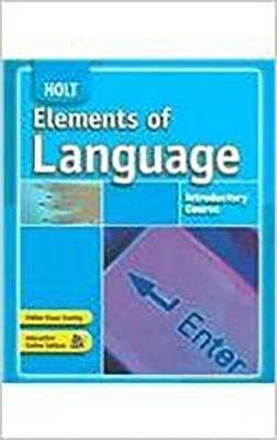 Holt elements of language introductory course grade 6 bookshare holt elements of language introductory course grade 6 fandeluxe Image collections