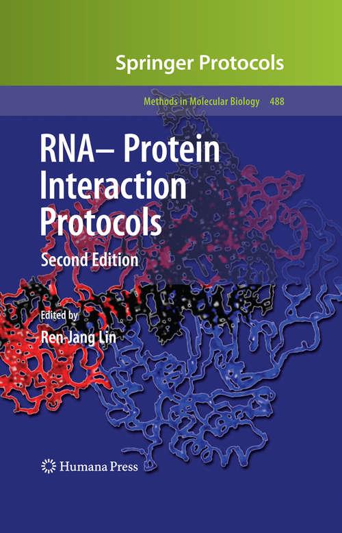 RNA-Protein Interaction Protocols