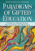 Paradigms of Gifted Education