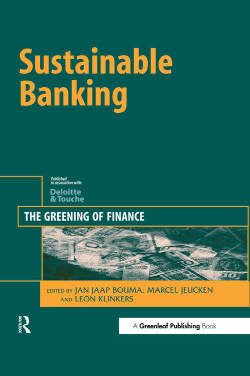 Sustainable Banking: The Greening of Finance