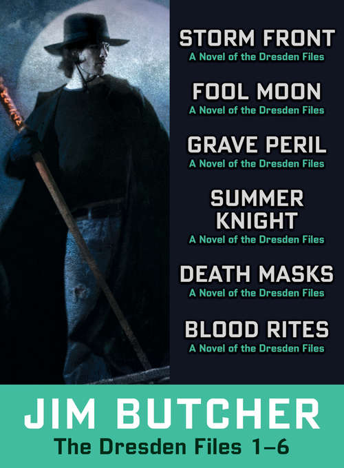 The Dresden Files Collection 1-6 (Dresden Files)