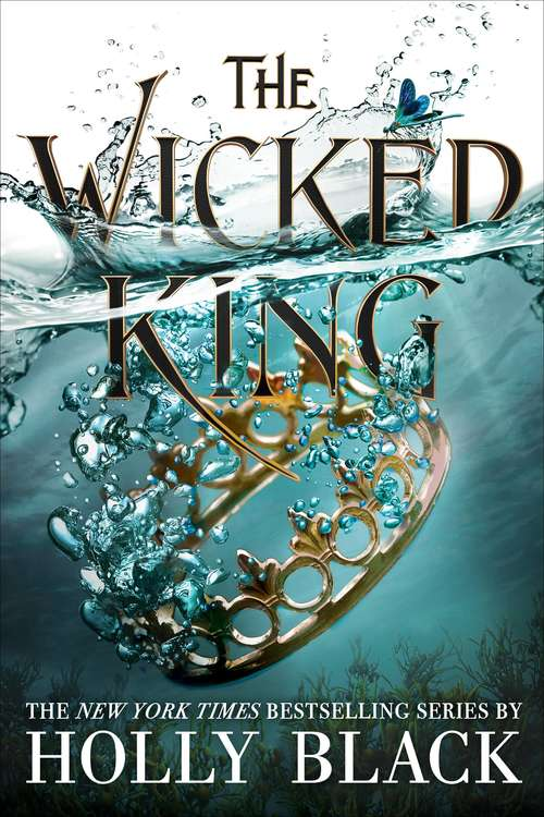 Collection sample book cover The Wicked King by Holly Black