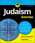 Judaism For Dummies (For Dummies Ser.) by Ted Falcon