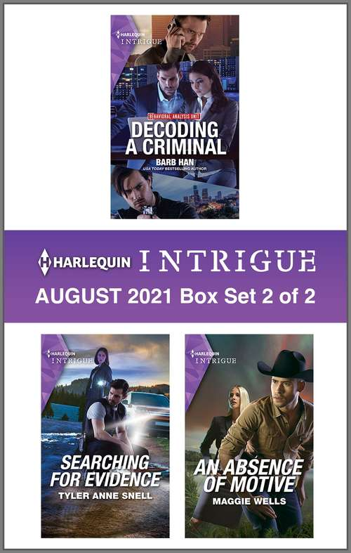 Harlequin Intrigue August 2021 - Box Set 2 of 2