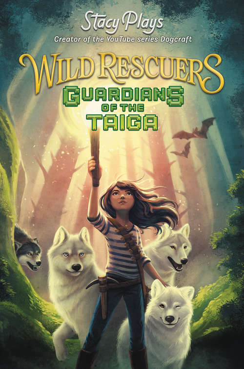 Collection sample book cover Wild Rescuers: Guardians of the Taiga