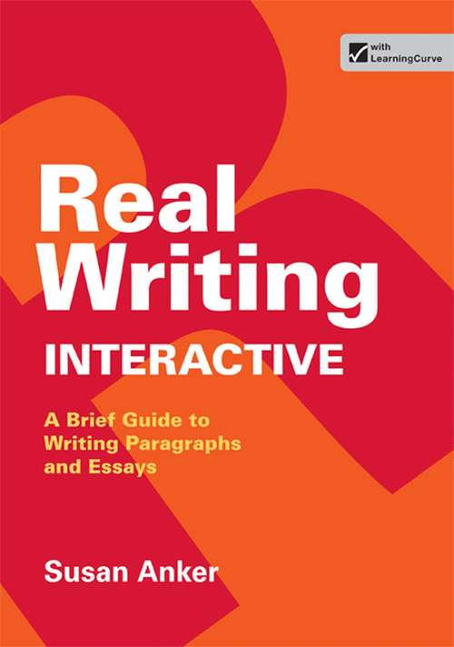 real essays with readings third edition Real writing with readings(3rd edition) paragraphs and essays for college  work, and everyday life - instructor's annotated edition by susan anker paperback.