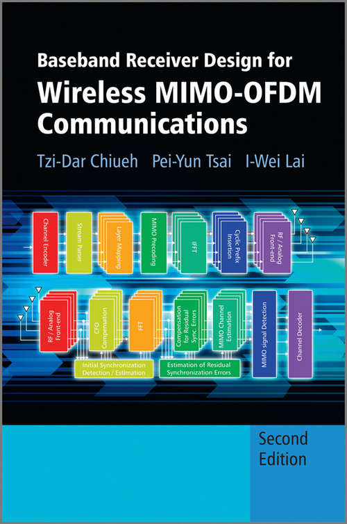 Baseband Receiver Design for Wireless MIMO-OFDM Communications (Wiley - IEEE)