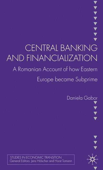 Central Banking and Financialization