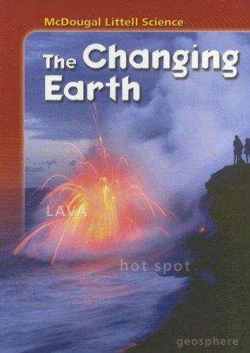 mcdougal littell science the changing earth bookshare