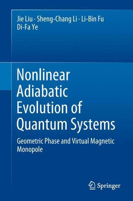 Nonlinear Adiabatic Evolution of Quantum Systems: Geometric Phase and Virtual Magnetic Monopole