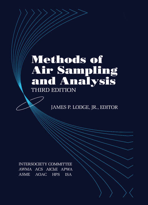 Methods of Air Sampling and Analysis