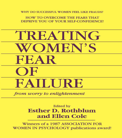 Treating Women's Fear of Failure: From Worry to Enlightenment