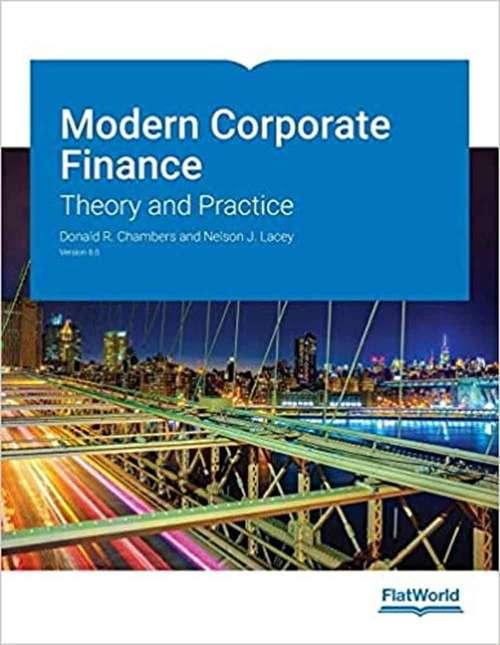 Modern Corporate Finance Version 8.0