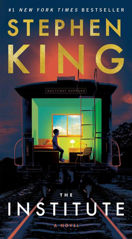 Collection sample book cover TheInstitute by Stephen King