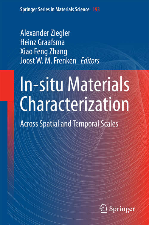 In-situ Materials Characterization