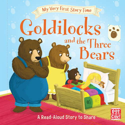 Goldilocks and the Three Bears: Fairy Tale with picture glossary and an activity (My Very First Story Time #4)