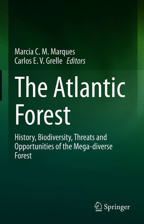 The Atlantic Forest: History, Biodiversity, Threats and Opportunities of the Mega-diverse Forest