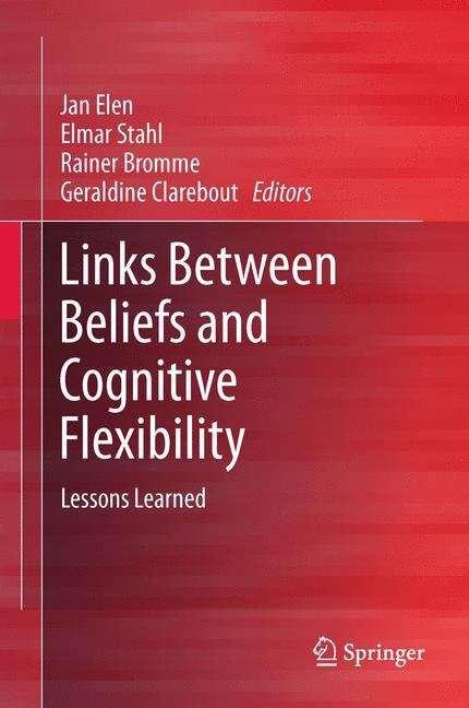Links Between Beliefs and Cognitive Flexibility