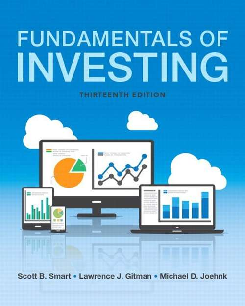 Fundamentals of Investing (The Pearson Series in Finance)
