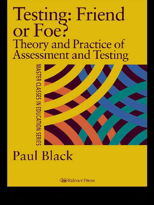Testing: Theory and Practice of Assessment and Testing