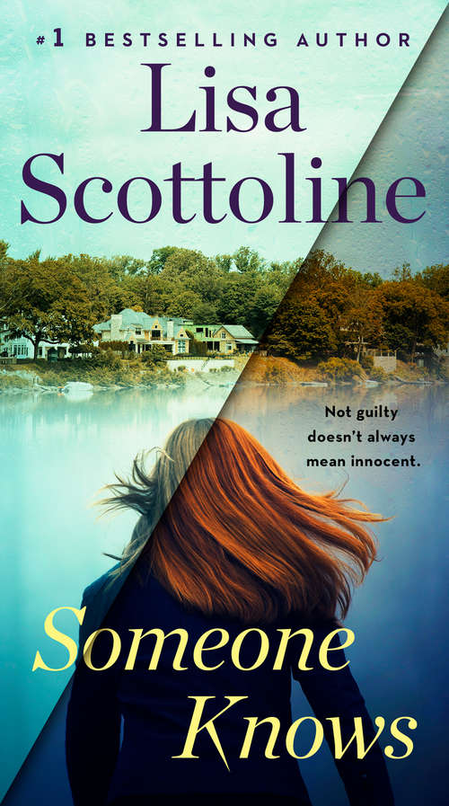 Collection sample book cover Someone Knows by Lisa Scottoline
