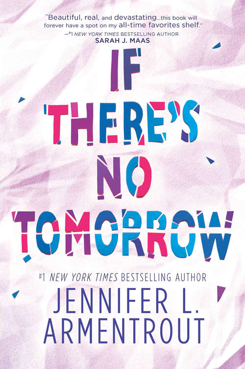 If There's No Tomorrow (Hq Young Adult Ser.)