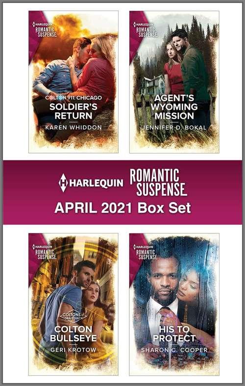 Harlequin Romantic Suspense April 2021